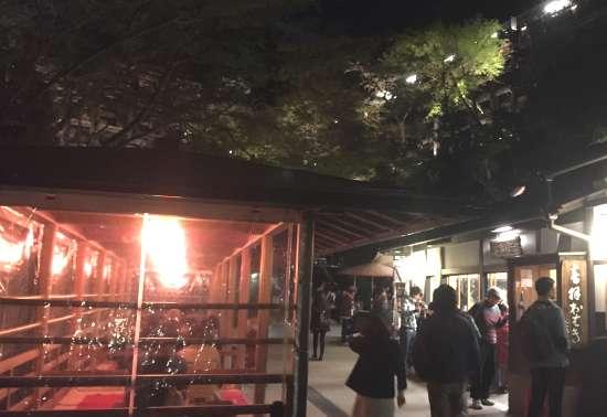 清水寺 夜の食事