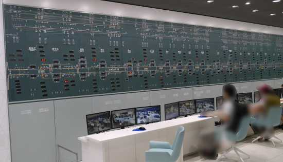 京都鉄道博物館 指令所