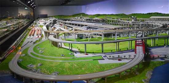 京都鉄道博物館 ジオラマ