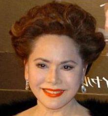 2013年秋フジテレビ、木曜劇場連ドラに出演していたデヴィ夫人。