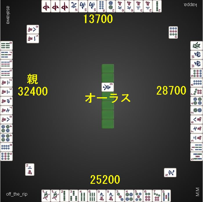 20141203_DORA麻雀_トップ1