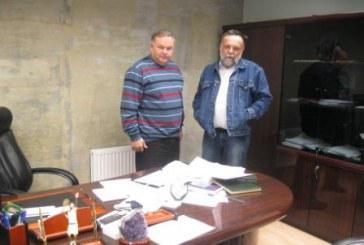 Встреча с космонавтом Лавейкиным по вопросу размещении мемориальной доски на доме А.Л.Чижевского