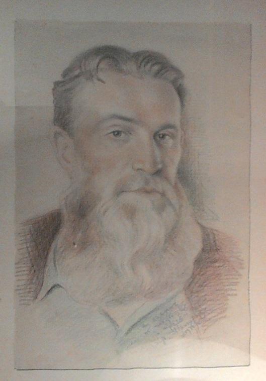 А.В. Григорьев. Портрет А.Л. Чижевского