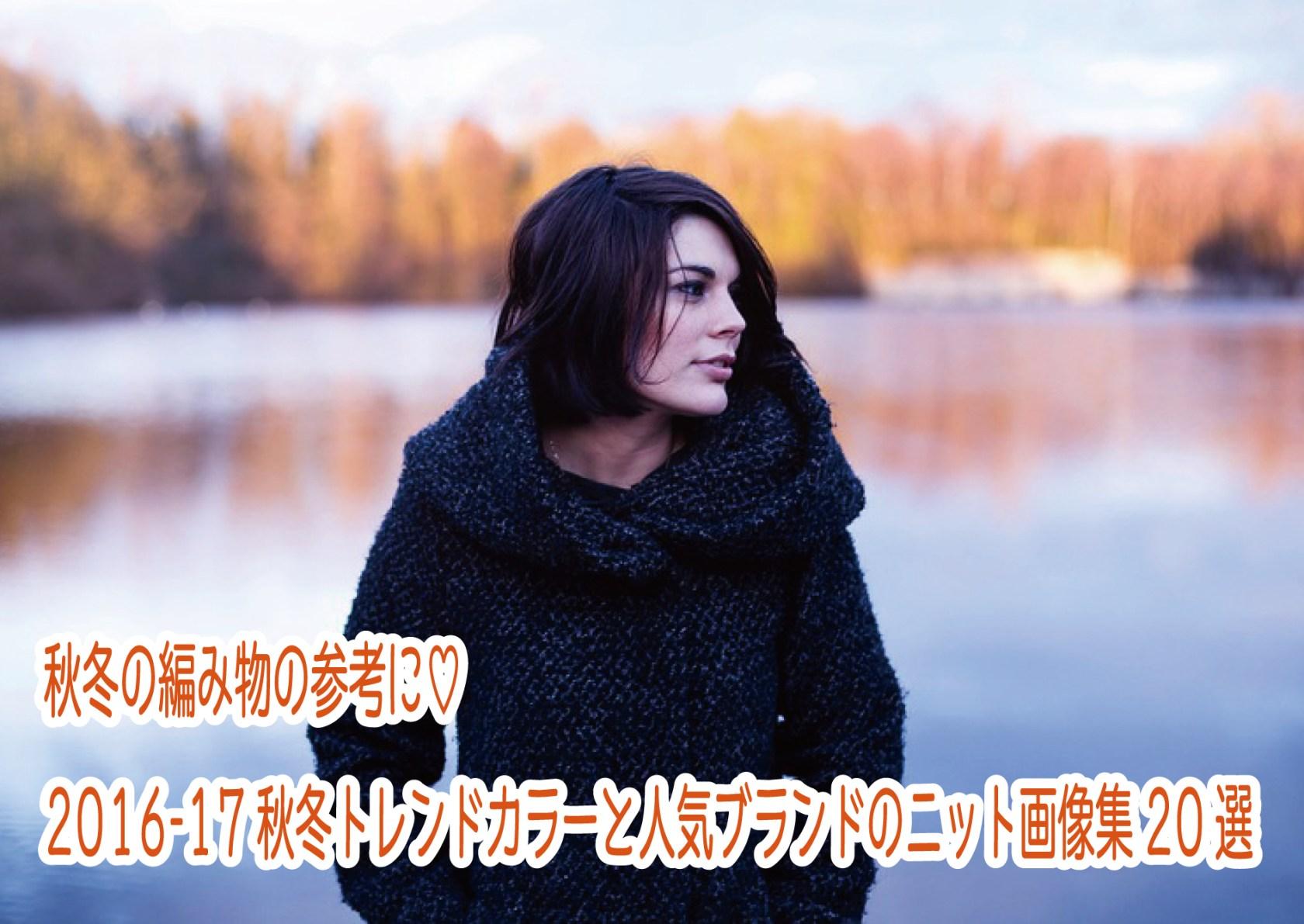 秋冬の編み物の参考に♡2016-17秋冬トレンドカラーと人気ブランドのニット画像集20選