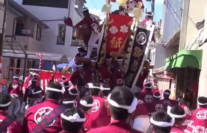 岸和田だんじり祭り 2015