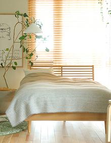 北欧スタイル寝室コーディネート
