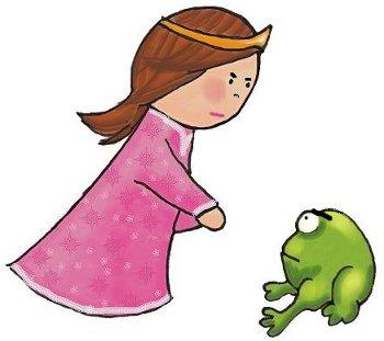 rana y princesa