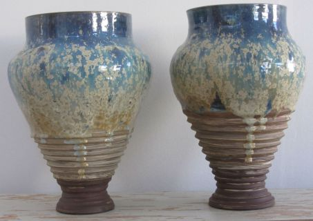 Geert Kisum, Vaser med krystalglasur.