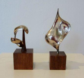 K Holst Andersen, små skulpturer.