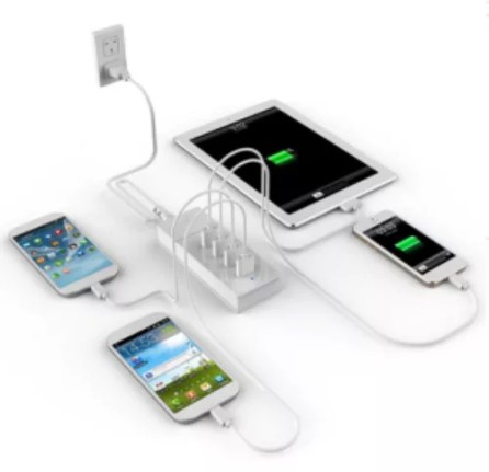 USB-Fast-Charger-with-4-Ports-for-iPhone-iPad-Cellphone-and-Other-Device