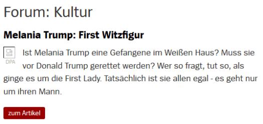 margarete-stokowski-melania-trump-first-witzfigur