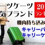 キャリーバッグ(ケース)人気ブランドランキング2015│スーツケース情報