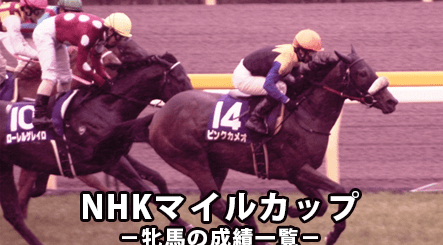 NHKマイルカップ,牝馬
