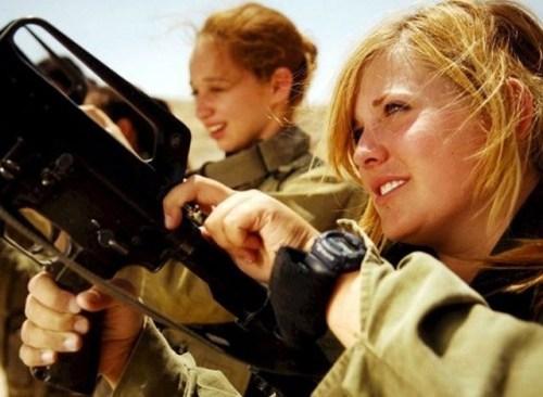 イスラエル軍の女性兵士129