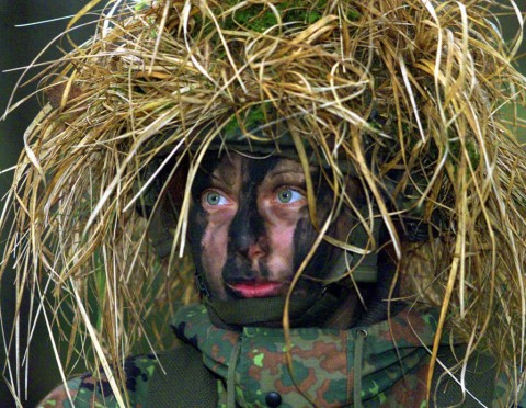イスラエル軍の女性兵士14
