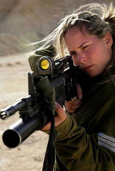 イスラエル軍の女性兵士149