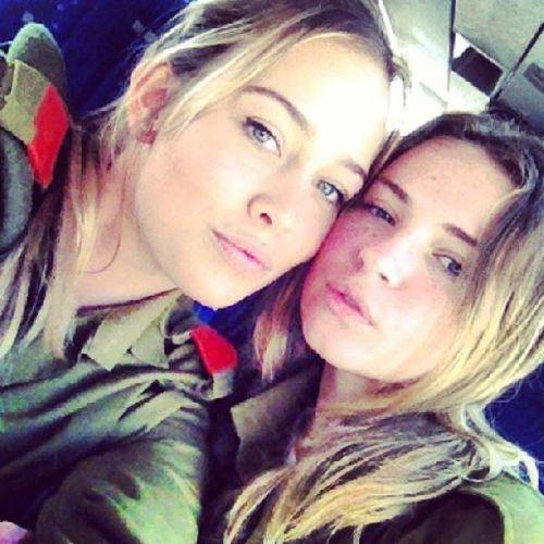 イスラエル軍の女性兵士35