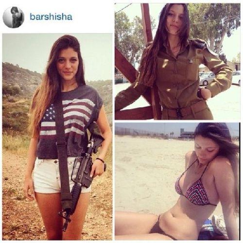 イスラエル軍の女性兵士60