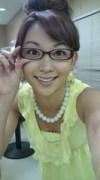 眼鏡をかけた美人女子アナウンサー画像18