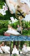 不思議の国のアリスっぽい結婚式が素敵な画像91