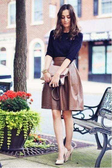 レザースカート6