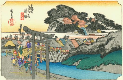 浮世絵の壁紙9