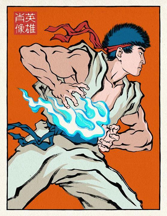 浮世絵ヒーロー3