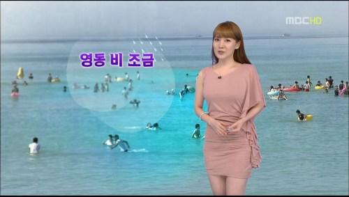 韓国の女子アナのスタイルがよかった.39