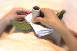 びわの葉温灸