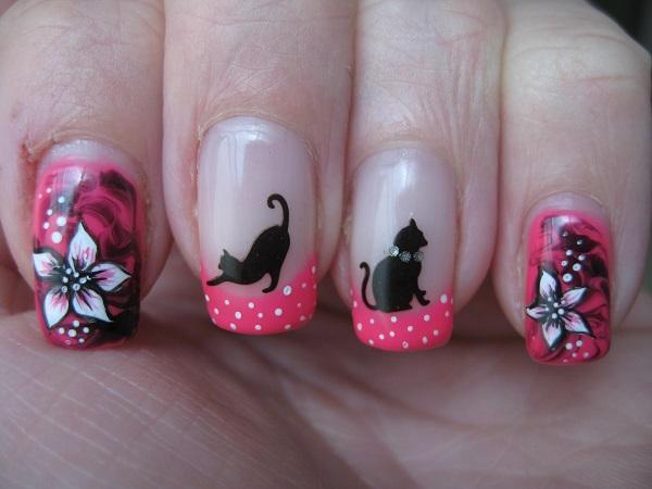 U as decoradas con gatos que vas a querer tener - Dibujos de gatos pintados ...