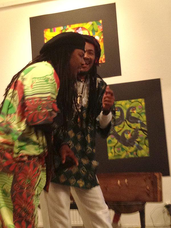 Bokrelease _Just Africa_ Kilema -Nesta sjunger