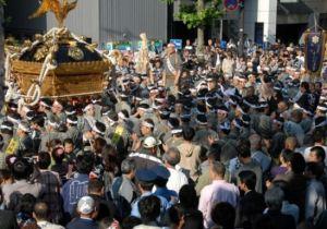 鳥越神社 祭り 例大祭