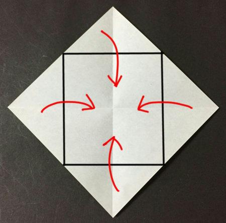 クリスマス 折り紙 こま 折り紙 : xn--w8jxbwb3erwa.com