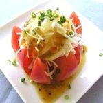 辛くない【玉ねぎサラダ】のレシピや効果について