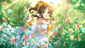 高森藍子SR画像ゆるふわ乙女
