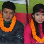 Vicky Malla and Surabhi Bista in hunger strike