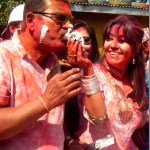 Holi at Karishma Manandhar place and Binod's birthday