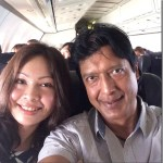 Rajesh Hamal and Madhu Bhattarai in honeymoon trip to Pokhara (Photos)