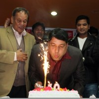Silver Jubilee in film industry and birthday of Chhabi Raj Ojha celebrated