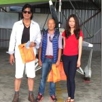 Rajesh Hamal celebrates his first marriage anniversary in Pokhara
