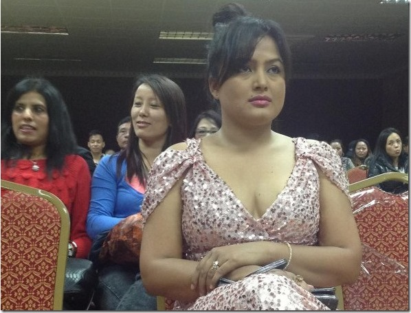 Rekha Thapa announces, no Nepali award for her movies
