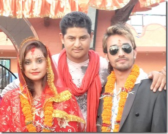 Sanchita Luitel becomes a bride, in Khatarnak
