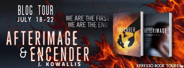 Afterimage / Encender book tour / review