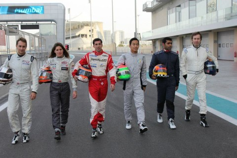Official shakedown at Yas circuit