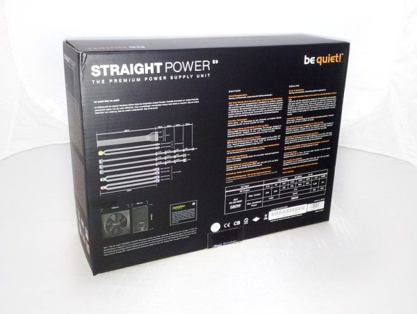 BeQuiet Straight Power 580w