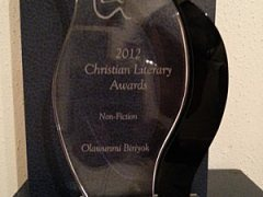 """The Manual For Righteous Living"" Wins Two Christian Literary Awards"