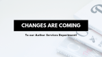 Changes Are Coming to Your Favorite Book Publisher!