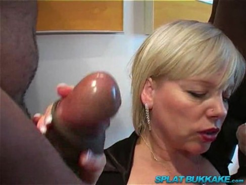 red headed granny sucking black cock valerie