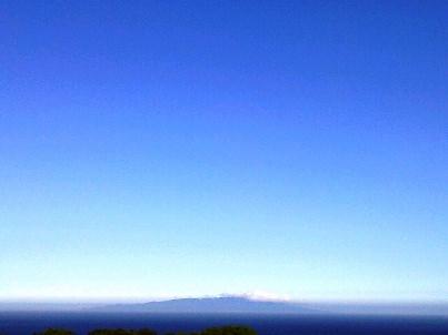 大灘から見える大島