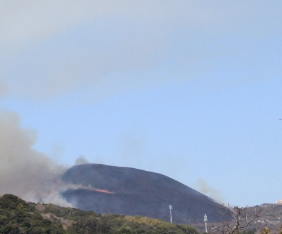 山焼き後の大室山